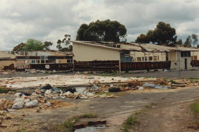 Newlands high school being demolished