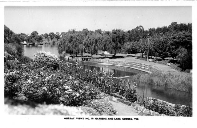 Chs c1950 gardens and lake coburg for Gardening 101 australia