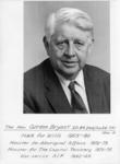 circa 1955. The Hon. Gordon Bryant M.H.R. for Wills