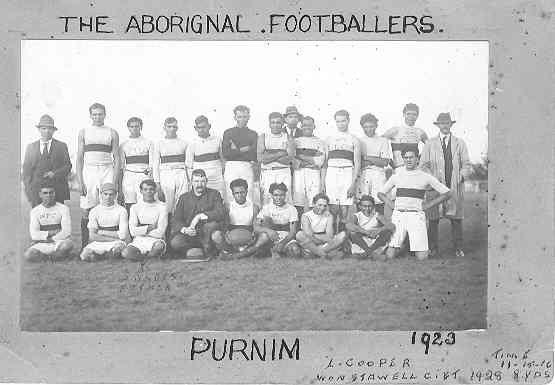The Aboriginal Footballers, Purnim