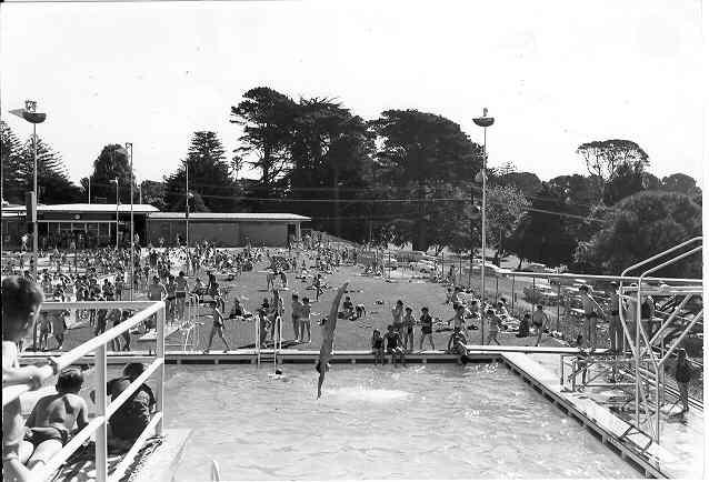 warrnambool circa 1960s olympic pool