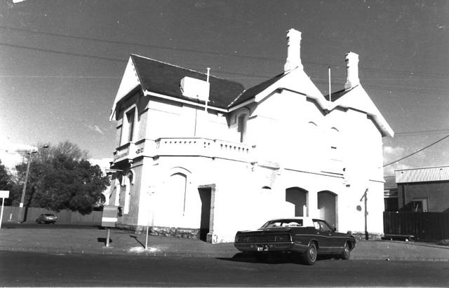Williamstown Post Office and Telegraph Office, 1 Parker Street, Williamstown
