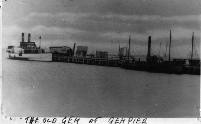 Ships at Gem Pier Williamstown