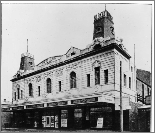 Maribyrnong Victoria: Miscellaneous:1915. Barkly Theatre, Barkly Street, Footscray