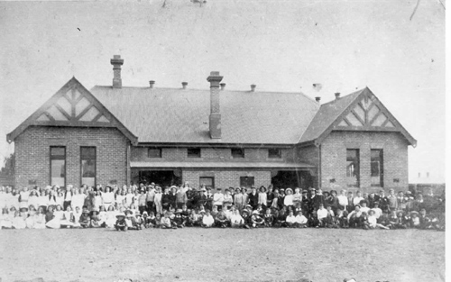 1905 st augustines roman catholic school, somerville road, yarraville
