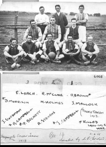 Irymple Soccer Team, Mildura.