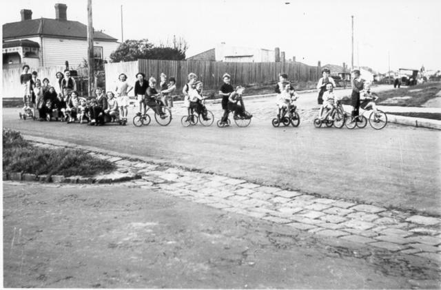 Trikes. Billycarts and Children