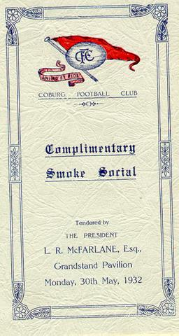 Coburg Football Club Smoke Social