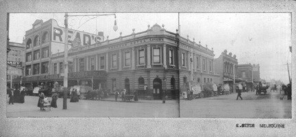 [Prahran Hotel and Read's first store]