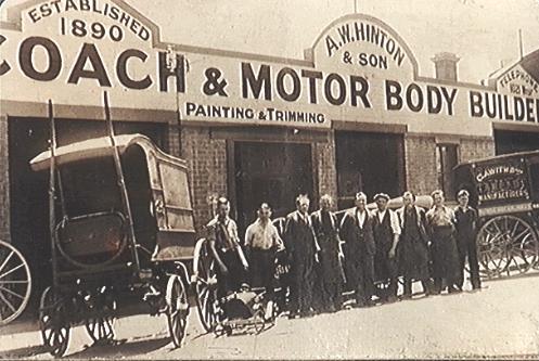 [A.W. Hinton & Son coachworks]