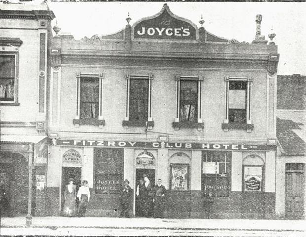 Fitzroy Club Hotel, Brunswick Street. Fitzroy.