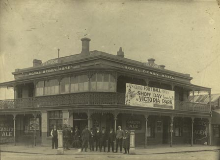 Royal Derby Hotel, corner Brunswick Street and Alexandra Parade, Fitzroy.