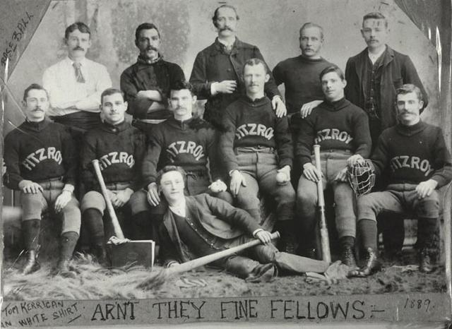 Fitzroy Baseball Team