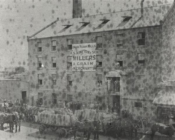 Flour Mill of W.S. Kimpton and Sons, 341 Brunswick Street, Fitzroy.