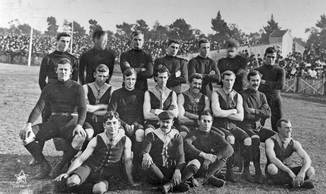 Fitzroy Football Club Team.