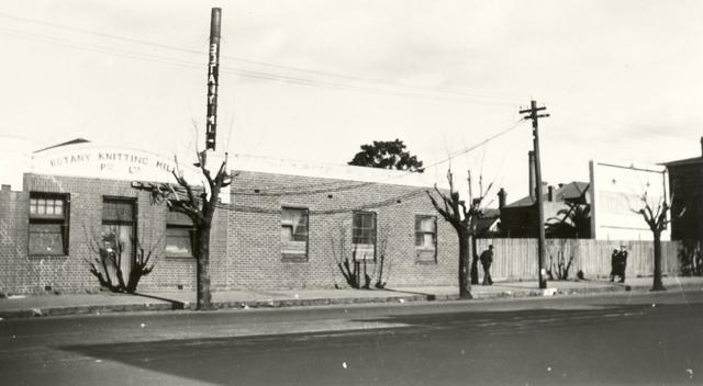 Botany Knitting Mills, 200 Nicholson Street, Fitzroy.