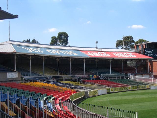 Groovy Carlton:February 2008. Gardiner Stand, Carlton Football Club AY-19