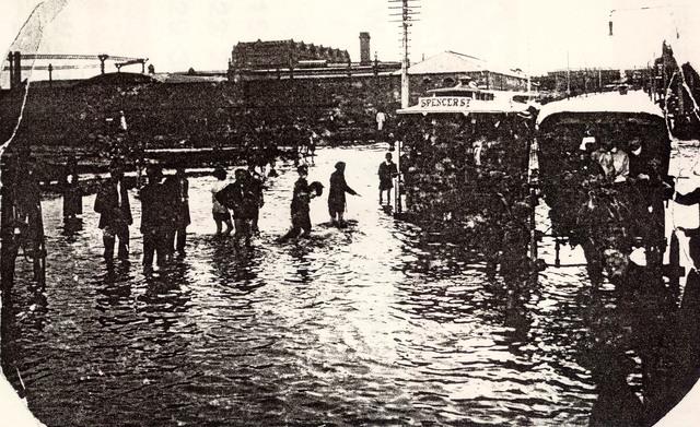 Reilly Street floods