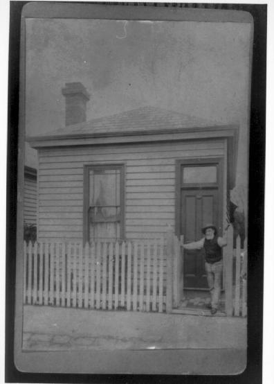 Richard Walker outside his house in Rupert Street