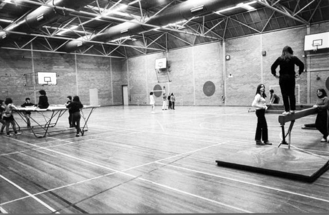 Collingwood Education Centre gymnasium